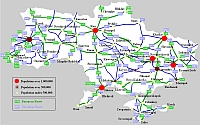 ukrajna autó térkép